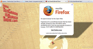 Mozilla's Ten Grand Is Buried There