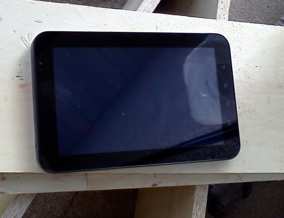Galaxy Tab - Outside