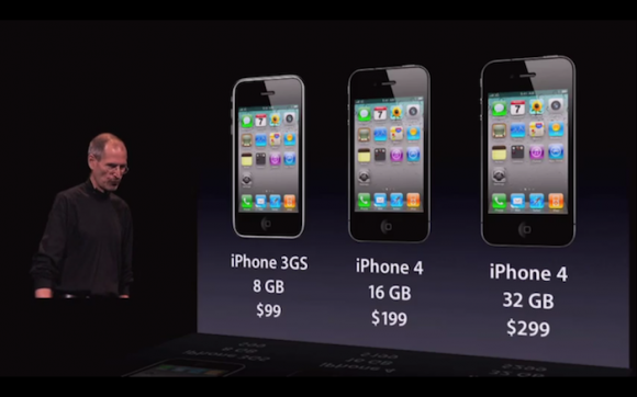 The Old iPhone Lineup